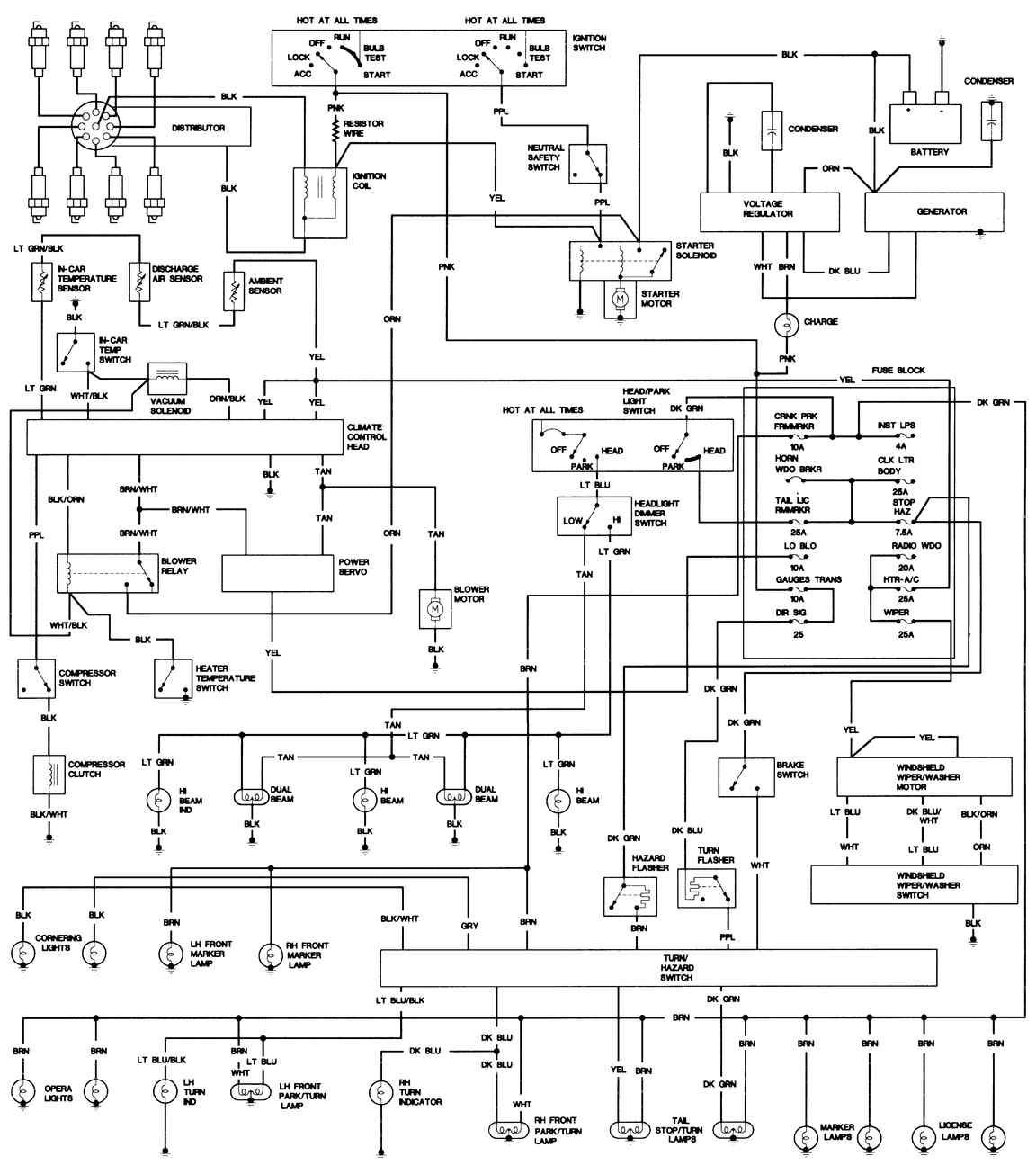 [EA_3959] 1967 Cadillac Fuse Box Download Diagram