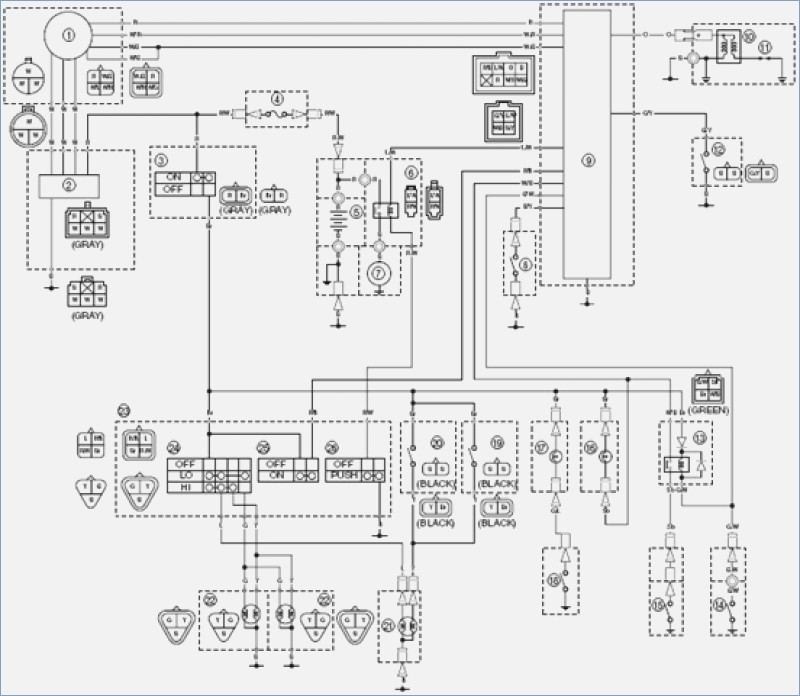 Yamaha 660 Wiring Diagram : Diagram 660 Grizzly 4wd Wiring