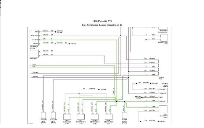 gd8997 peterbilt tachometer wiring schematic wiring