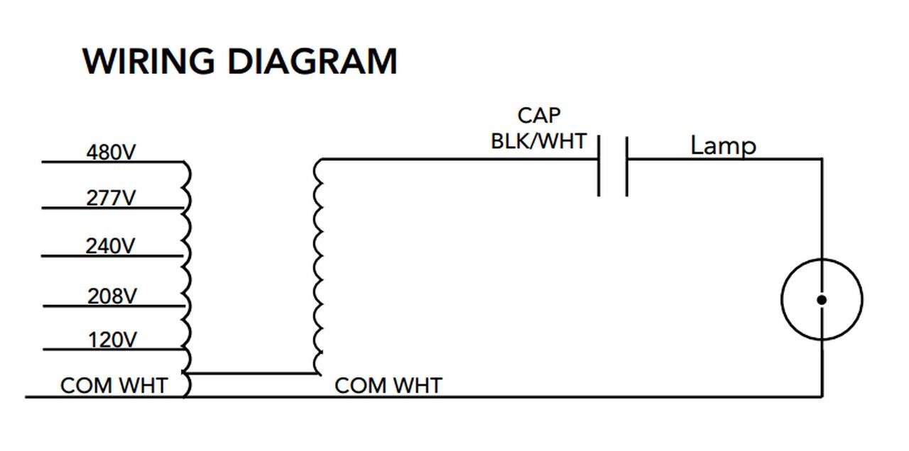[DB_0310] 277V Metal Halide Ballast Wiring To Free Diagram