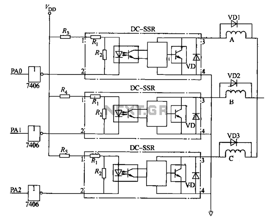 [HS_2287] 3 Phase Stepper Motor Driver Circuit Wiring Diagram