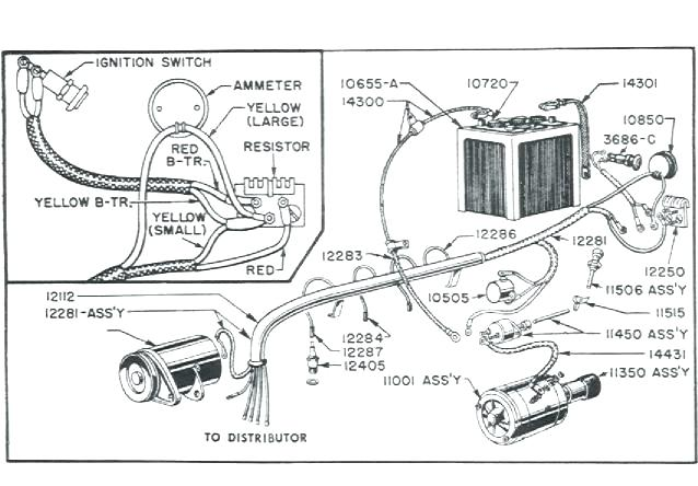 ford 8n 6v wiring diagram