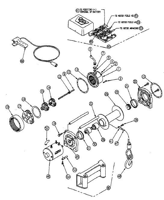 [Download 42+] Polaris Warn Winch Wiring Diagram