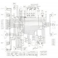 [YN_3652] Motorcycle Wiring Diagrams Also Kawasaki Kz1000