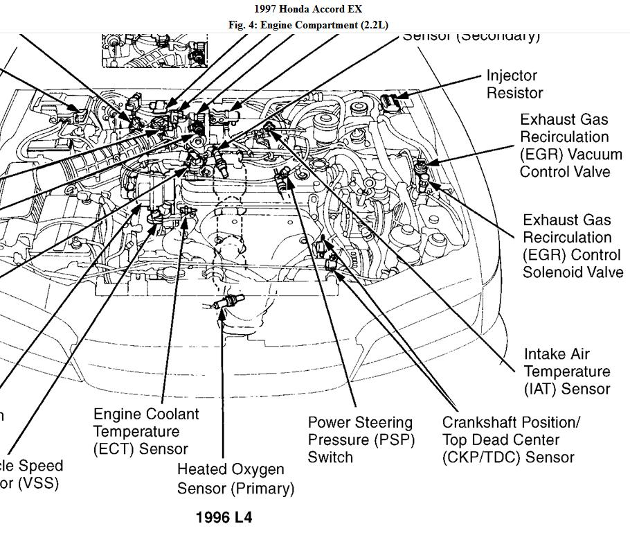 [HR_4765] 1997 Honda Civic Electrical Wiring Diagram