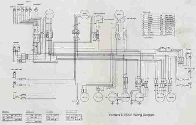 1977 yamaha dt250 wiring diagram | hobbiesxstyle  hobbiesxstyle