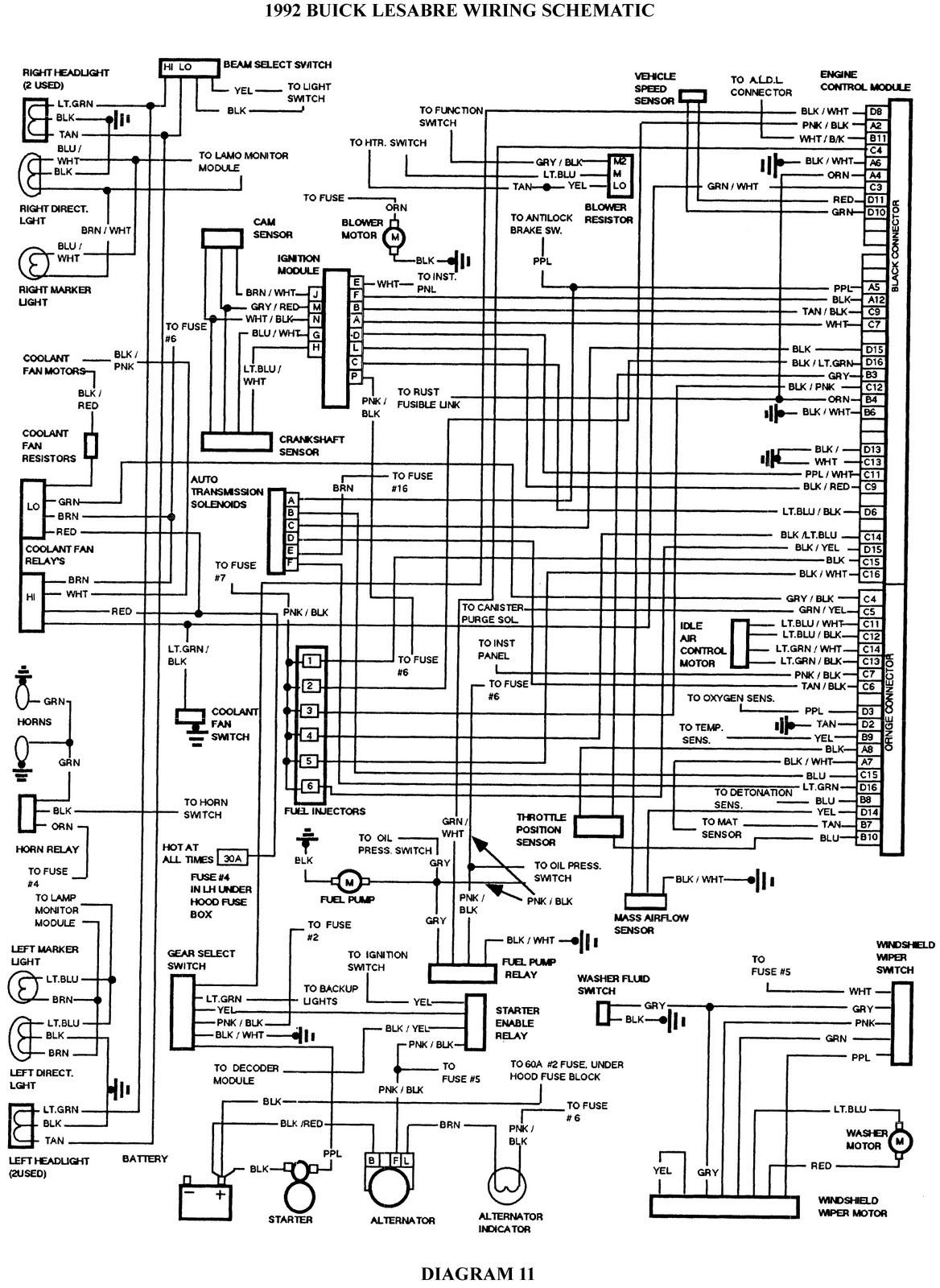 [BA_8733] Buick Vacuum Diagrams Free Diagram