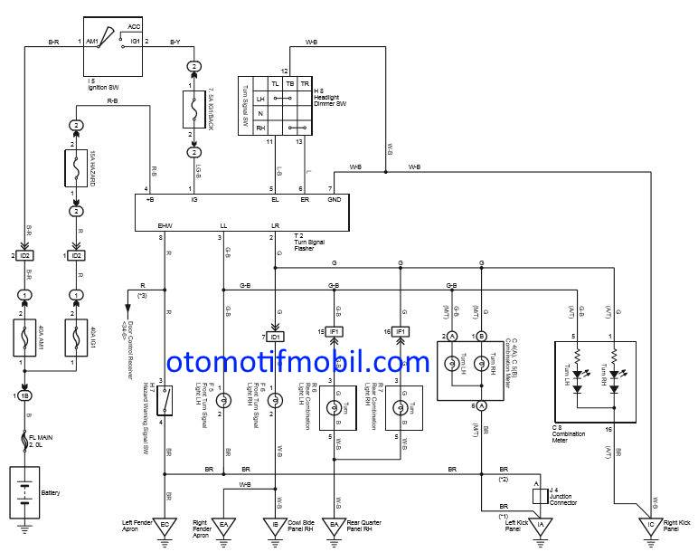 Wiring Diagram Lampu Kepala Avanza : Diagram Wiring