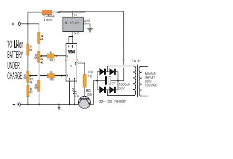 [FA_3633] 18V Battery Charger Circuit Diagram Download Diagram
