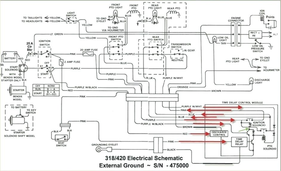 [LR_3479] Wiring Diagram John Deere 4020 Tractor Manual