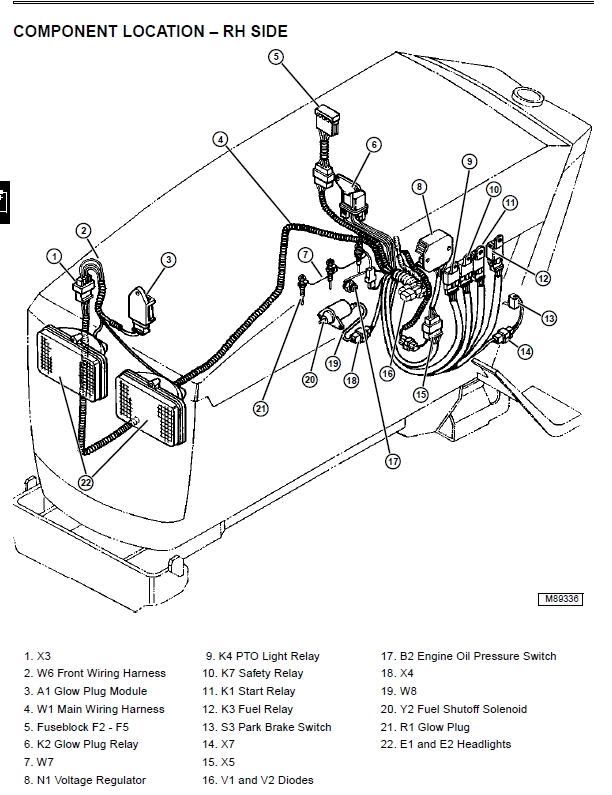 [LR_3479] Wiring Diagram John Deere 4020 Tractor Manual