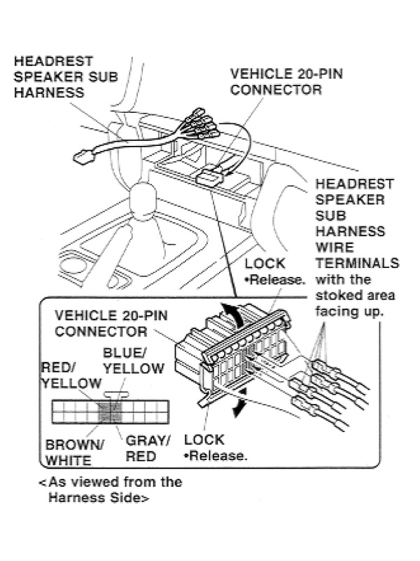 S2000 Radio Wiring Diagram / 2002 Honda S2000 Radio Wiring