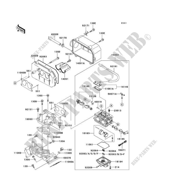 [SC_4793] Kawasaki Vulcan 800 Carburetor Diagram Schematic