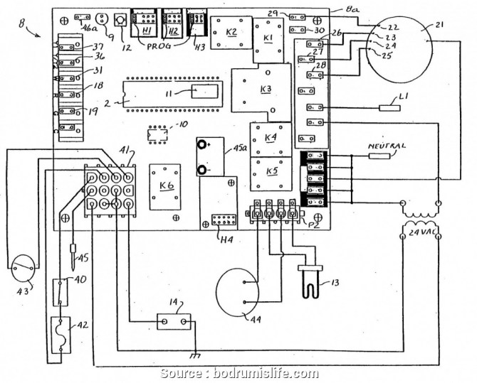 diagram williams thermostat p322016 wall furnace wiring