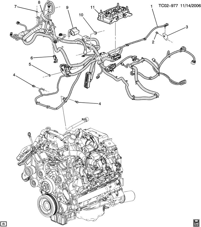 [HF_1447] Duramax Engine Parts Diagram Schematic Wiring