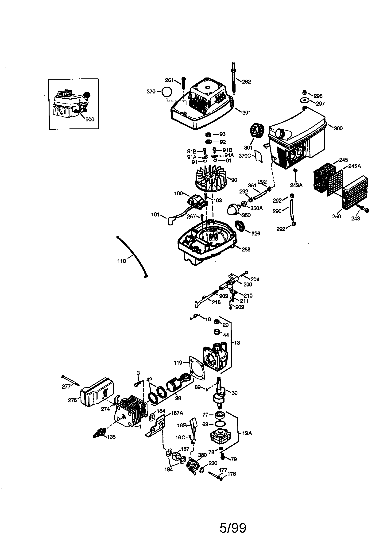 [TO_0248] Carburetor Diagram And Parts List For Briggs