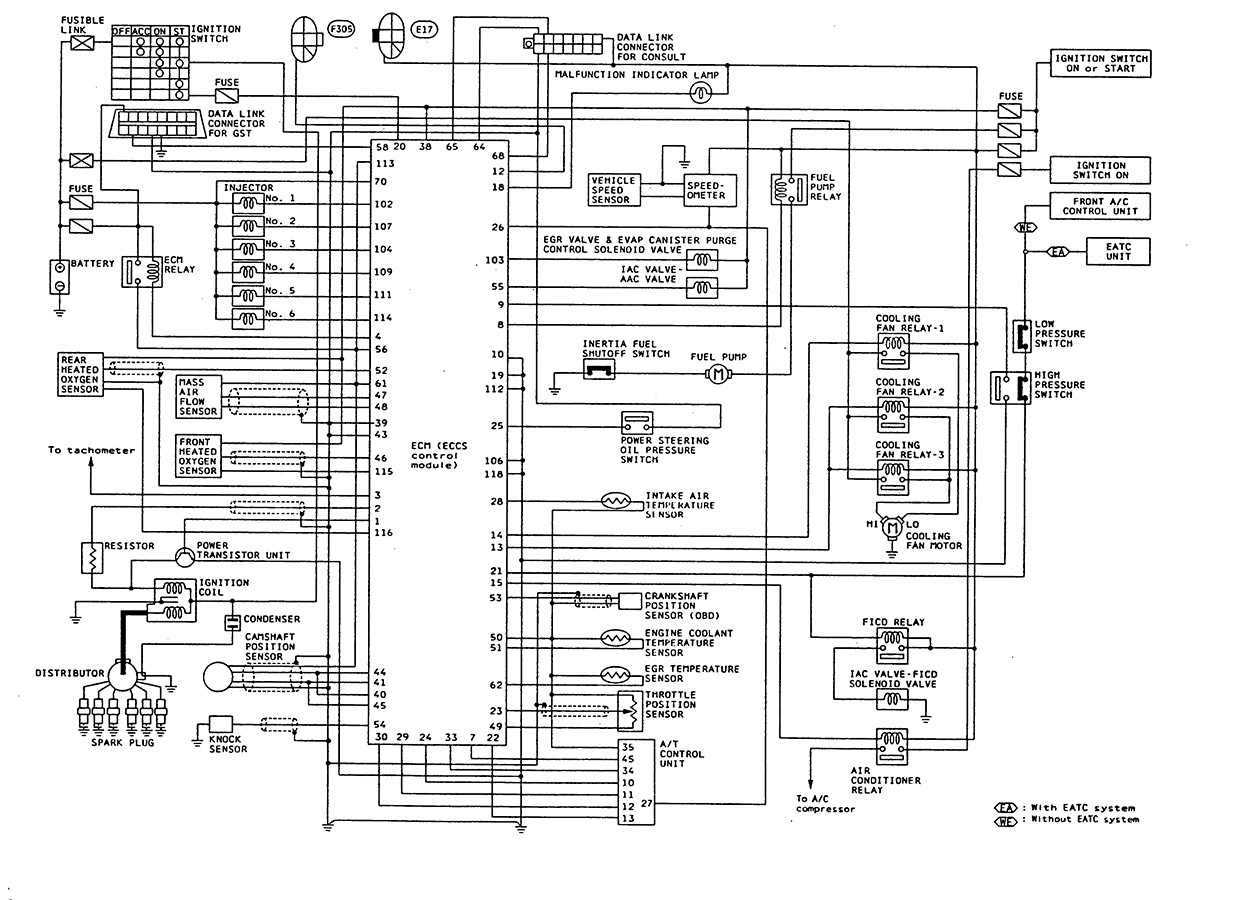 [DIAGRAM] Nissan B13 Fuse Box Diagram FULL Version HD