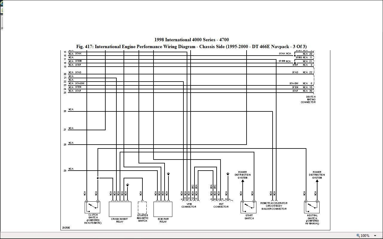 International Durastar Wiring Diagrams