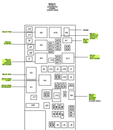 [VB_3775] 2000 Dodge Grand Caravan Cooling System Diagram