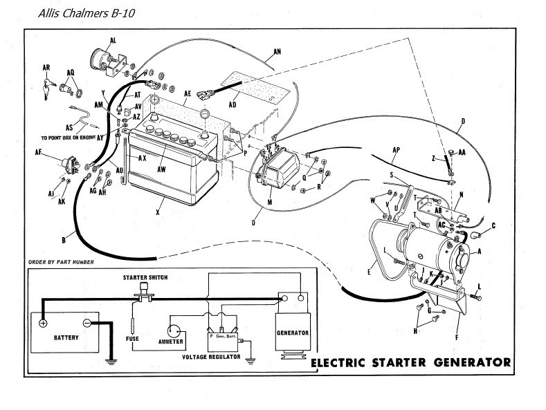 [CT_1601] Allis Chalmers D17 Tractor Wiring Diagram Wiring