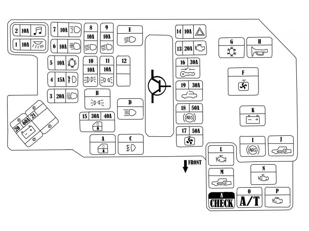 [KF_7435] 1997 Eclipse Fuse Box Diagram Schematic Wiring