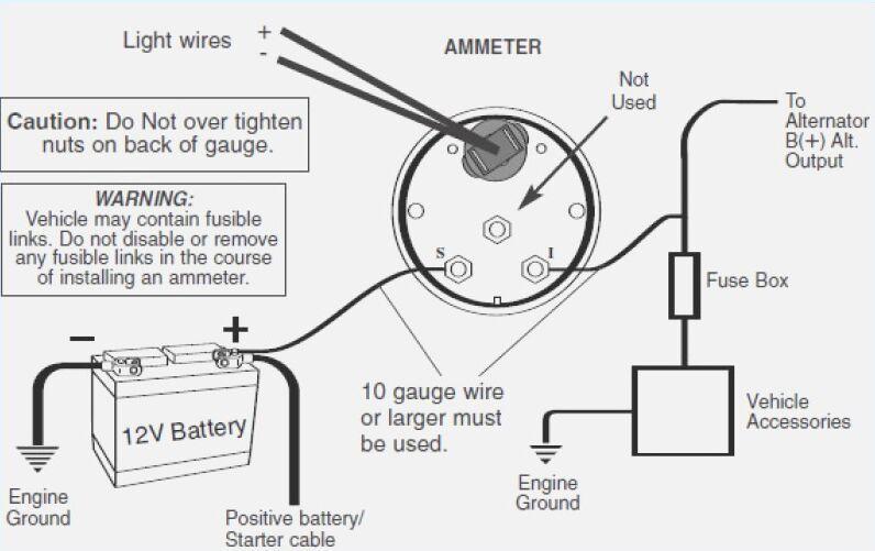 [TG_9776] 12 Volt Amp Gauge Wiring Diagram Download Diagram