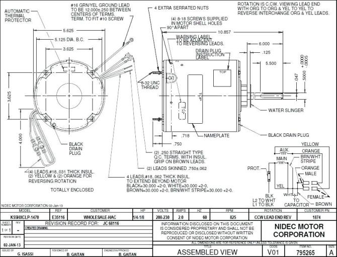 kx3483 wiring diagram emerson motor furthermore 3 wire