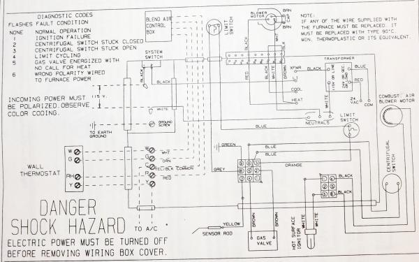 [GD_6760] Coleman Gas Furnace Wiring Schematic Free Diagram