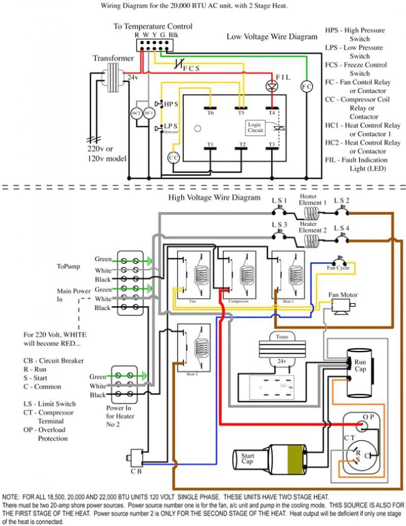 Rheem Heat Pump Thermostat Wiring Diagram - Wiring Diagram