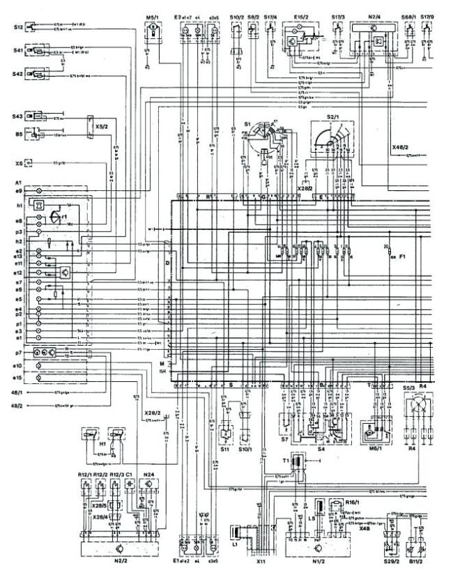 mercedes benz w124 230e wiring diagram  immersion heater