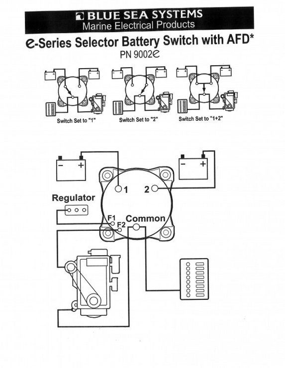 Battery Selector Switch Wiring Diagram Collection