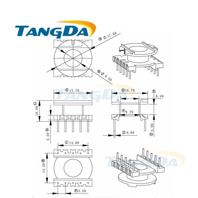 [TN_9686] Transformer Core Type Schematic Free Diagram
