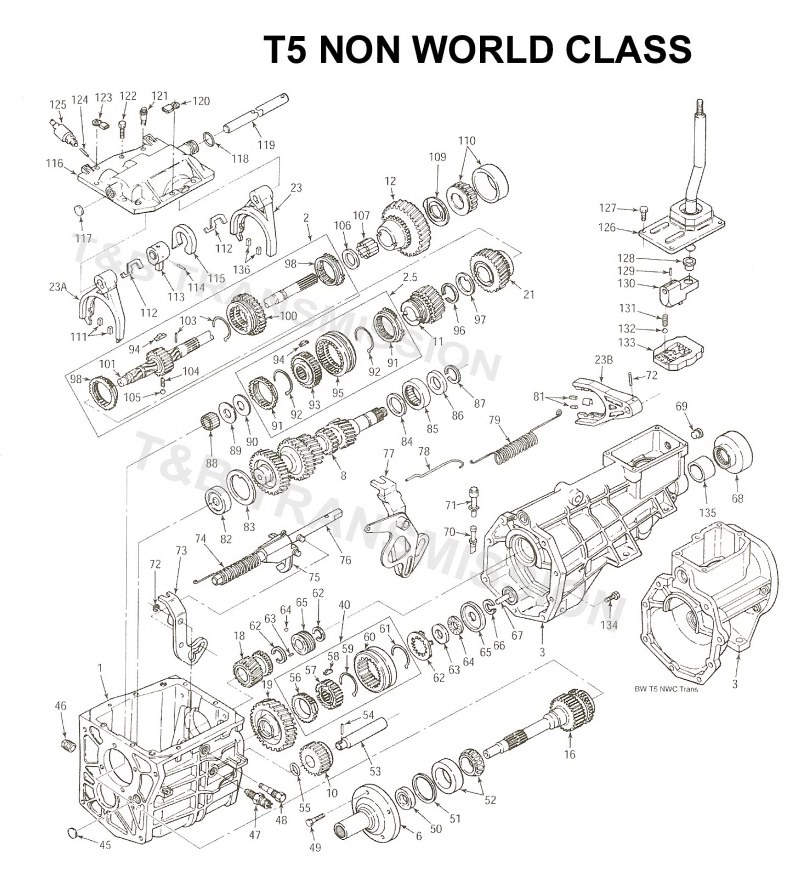[BS_9067] Ford Transmission Numbers Free Diagram