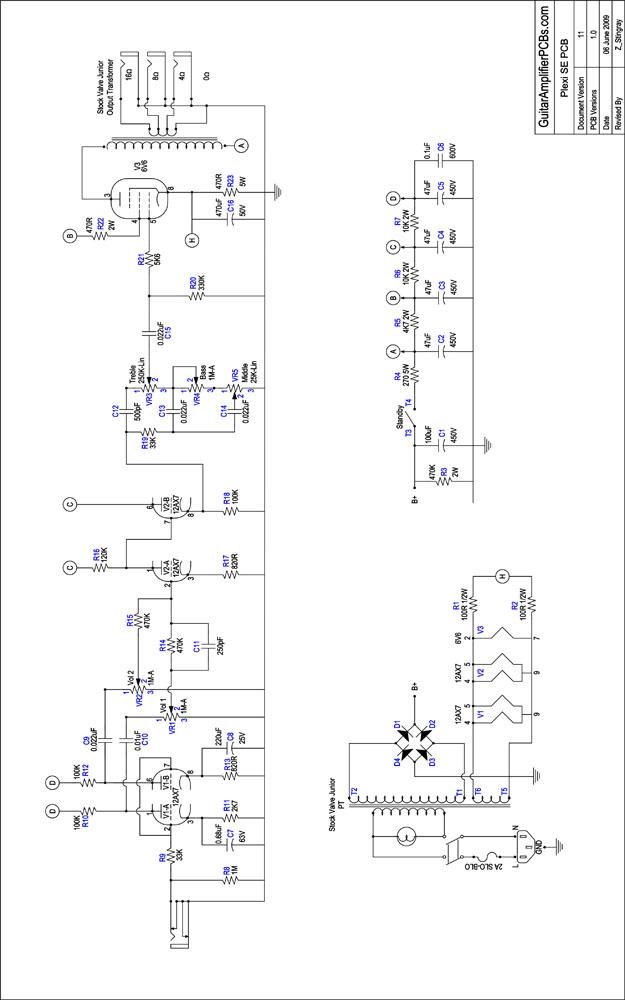 [OX_9147] Marshall Plexi Wiring Diagram Schematic Wiring