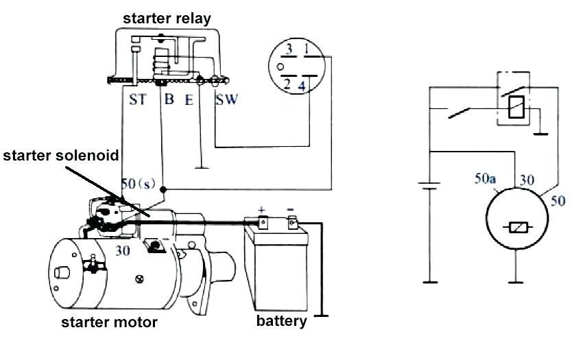 [EY_2589] Yanmar Starter Wiring Diagram Schematic Wiring