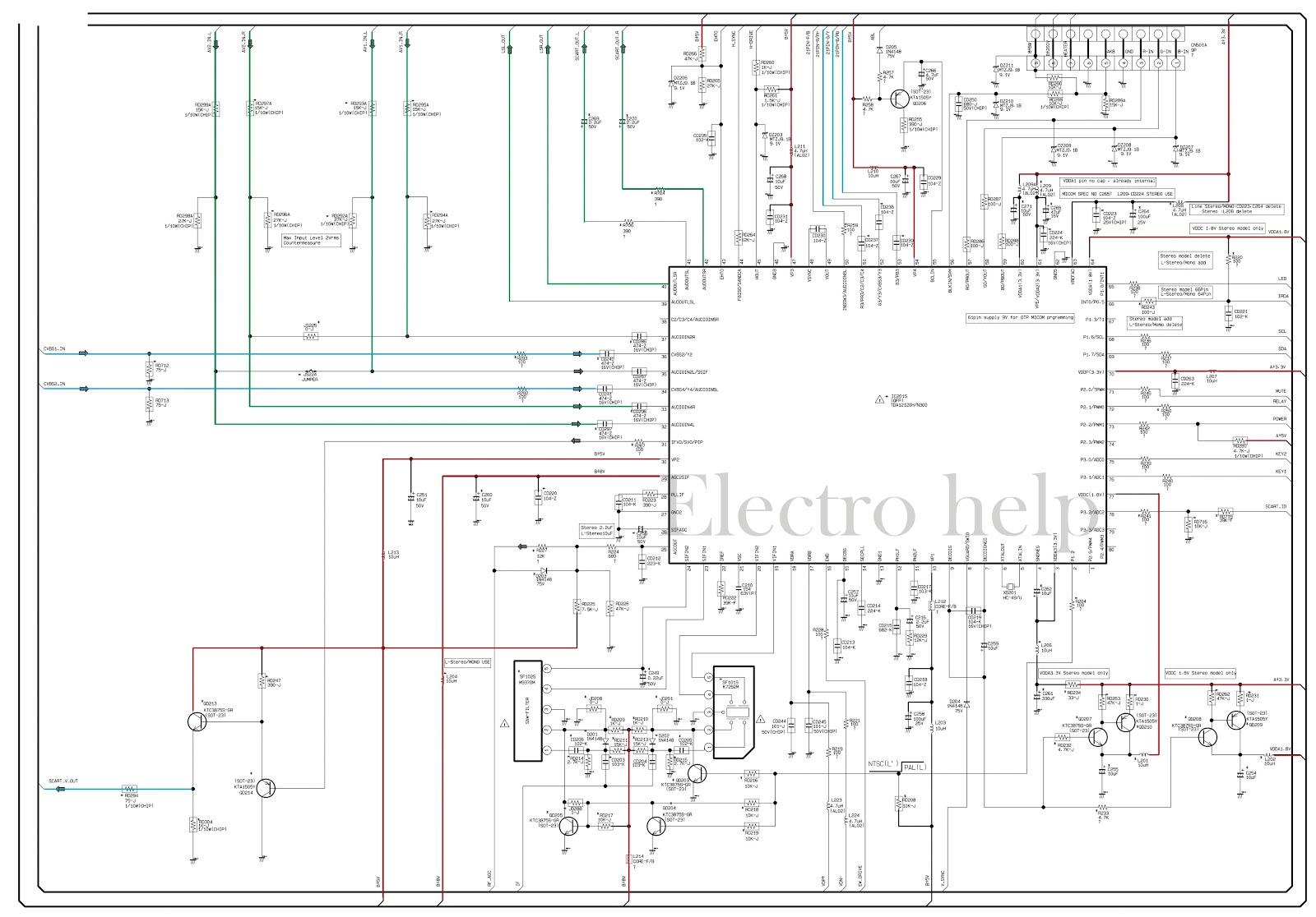 [29+] Crt Tv Schematic Diagram