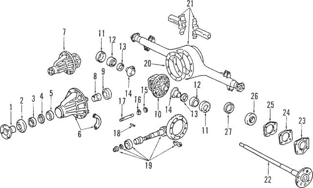 [AH_5607] 1991 Toyota Previa Engine Diagram Schematic Wiring