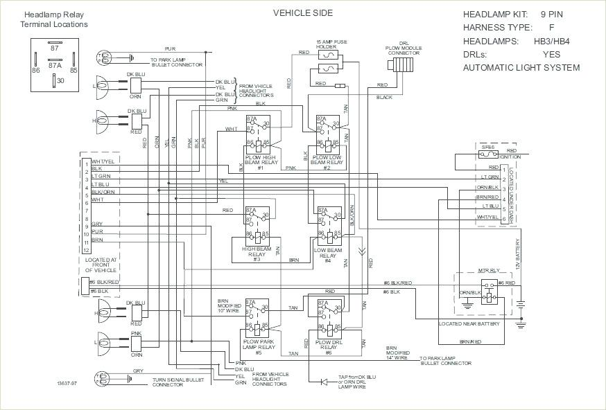 [SA_7877] Boss Snow Plow Installation Wiring Free Diagram