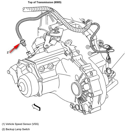 kv5239 pontiac sunfire manual transmission diagram