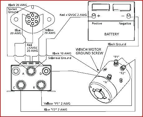 Badlands Winch Wiring Diagram / Ms 7633 Badland Remote