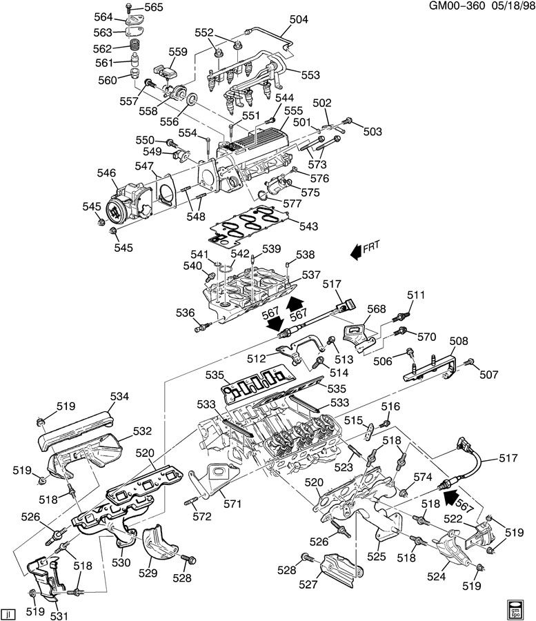 [MB_5570] Buick 3800 Vacuum Diagrams Download Diagram