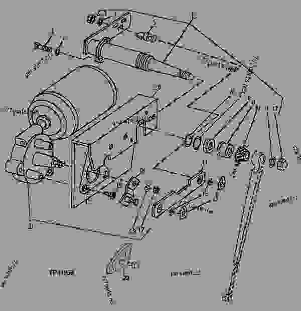 [YL_4006] John Deere 310 Backhoe Parts Diagram John Deere