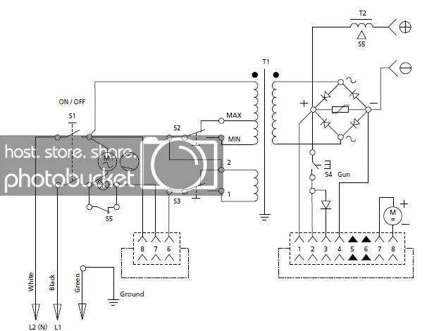 [HO_7432] Hobart 250 Mig Welder Wiring Diagram Download