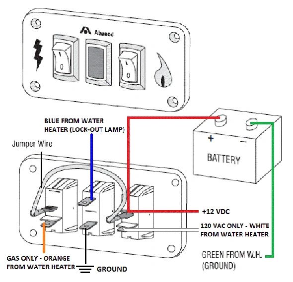 Atwood Water Heater Wiring Diagram : Electric Water Heater