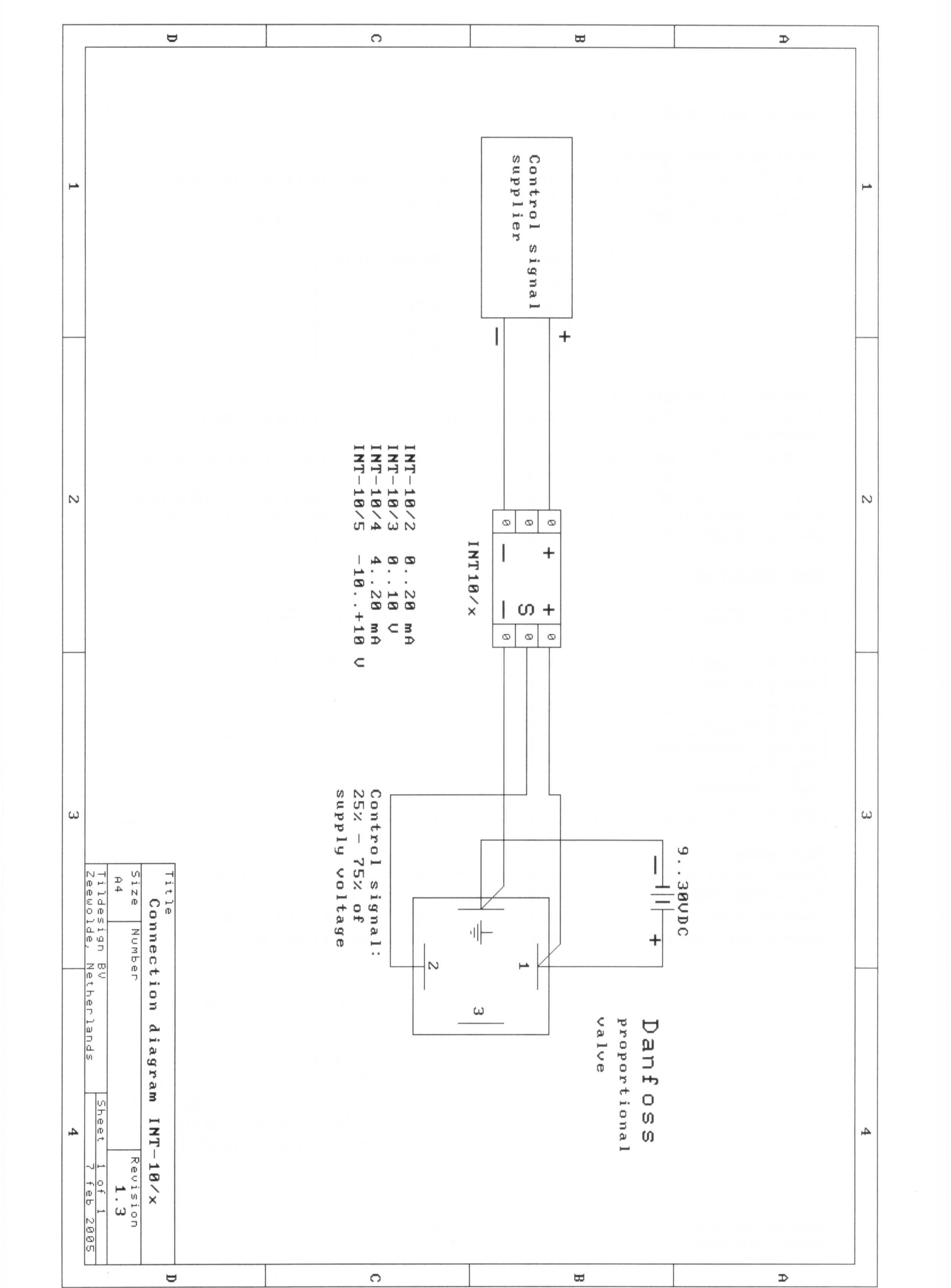 Danfoss 2 Port Motorised Valve Wiring Diagram