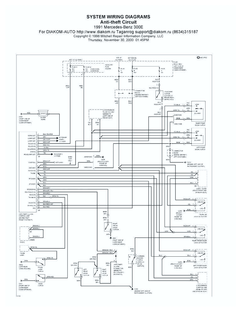 2001 S430 Mercedes Benz Ignition Wiring Diagrams