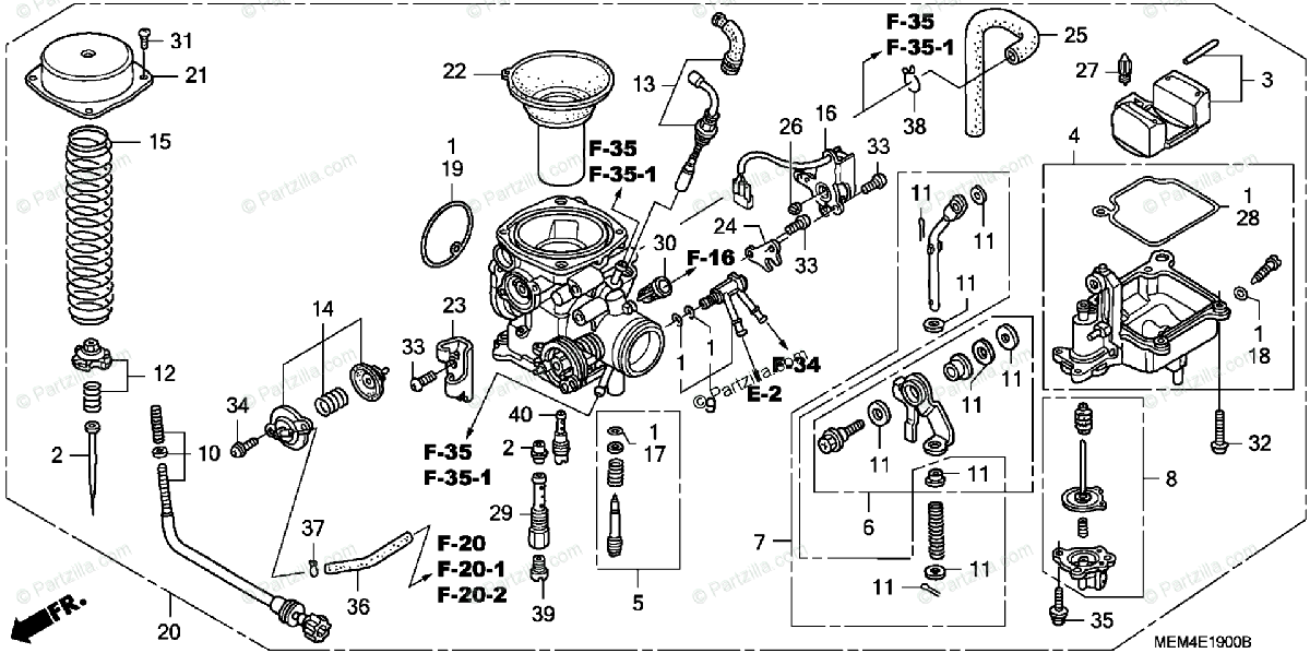 [AO_6054] Honda Motorcycle Carburetor Diagram Free Diagram