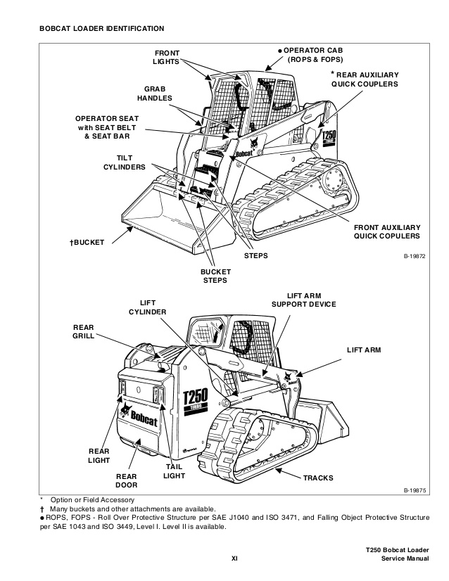 [BH_4587] Bobcat 773 Parts Diagram Engine Download Diagram