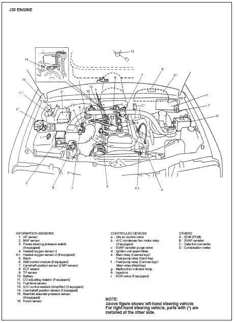 2005 Toyota Matrix Engine Diagram : Toyota Matrix 2009