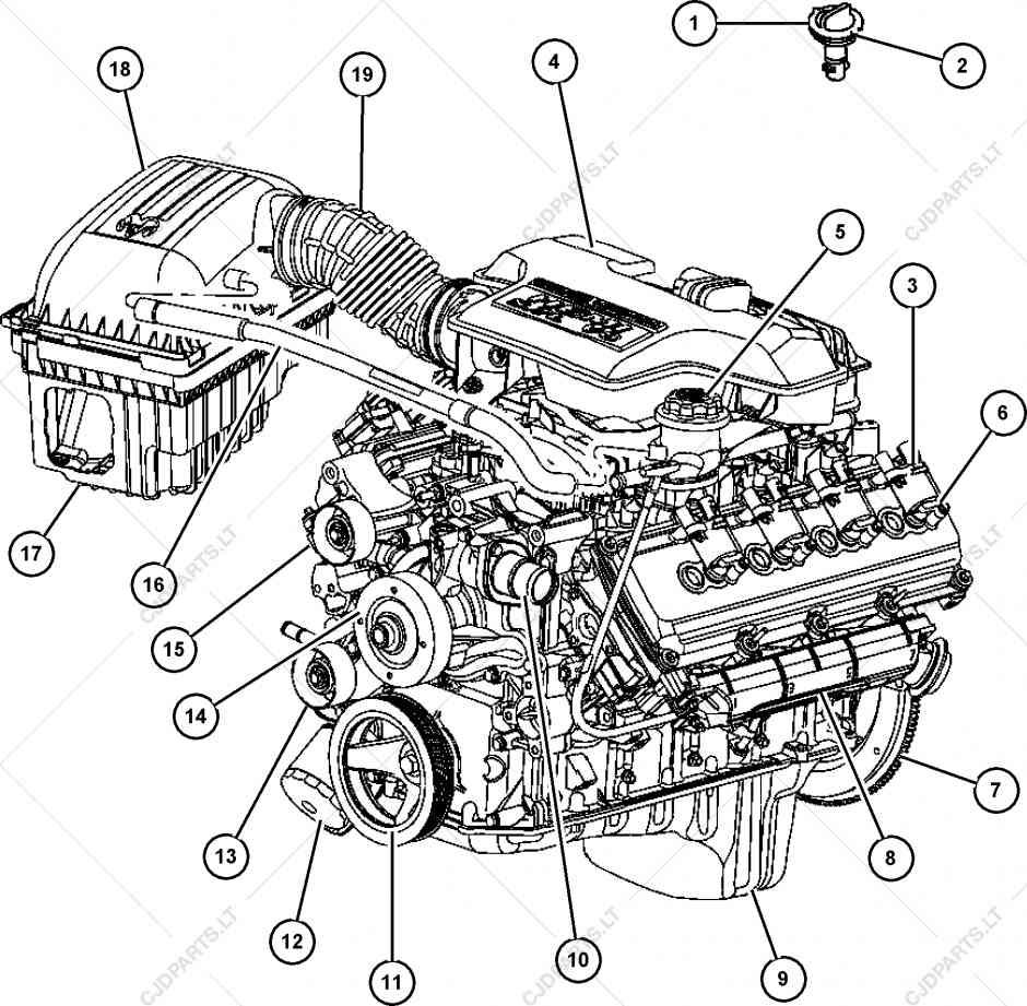 [RA_6999] 5 7L Hemi Engine Gasket Diagram Wiring Diagram